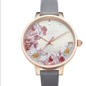 NWT Ted Baker Floral Dial Leather Buckle W…